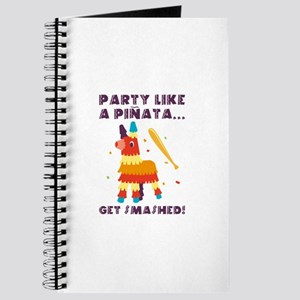 Party Like A Pinata Journal
