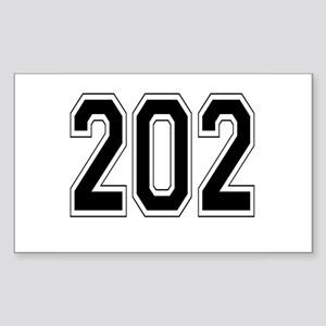 202 Rectangle Sticker