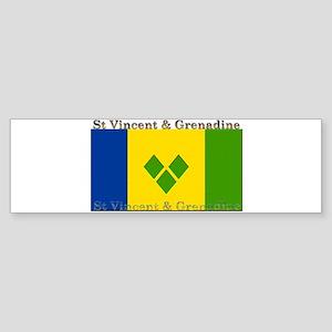 St Vincent & Grenadine Bumper Sticker
