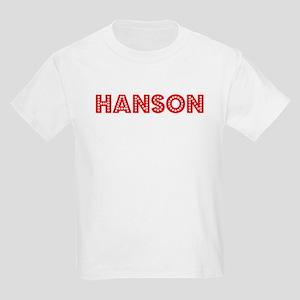 Retro Hanson (Red) Kids Light T-Shirt