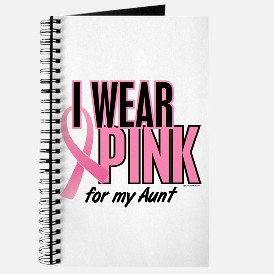 I Wear Pink For My Aunt 10 Journal