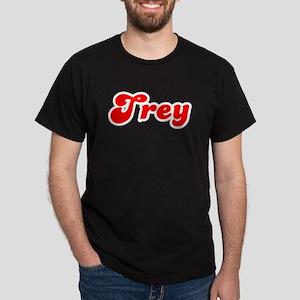Retro Trey (Red) Dark T-Shirt