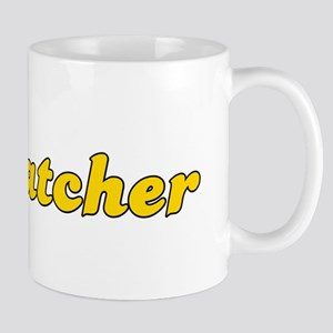 Retro Rat catcher (Gold) Mug