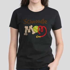 Schnoodle Dog Mom Women's Light T-Shirt