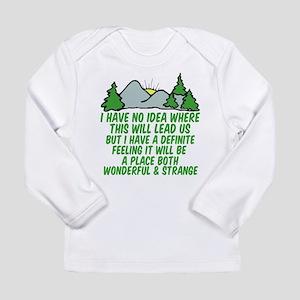 Twin Peaks Trees Long Sleeve T-Shirt