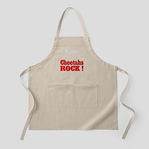 Cheetahs Rock ! BBQ Apron