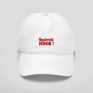 Squirrels Rock ! Cap