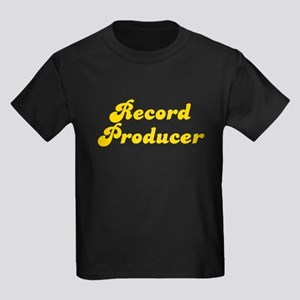 Retro Record Prod.. (Gold) Kids Dark T-Shirt