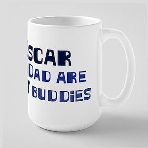 Oscar and dad Large Mug