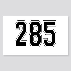 285 Rectangle Sticker