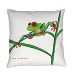 Red-eyed Treefrog Everyday Pillow