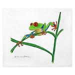 Red-eyed Treefrog King Duvet