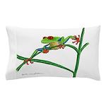 Red-eyed Treefrog Pillow Case