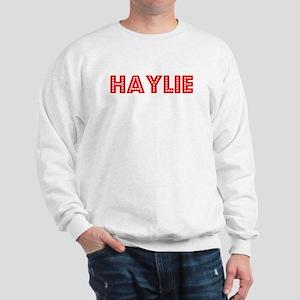 Retro Haylie (Red) Sweatshirt