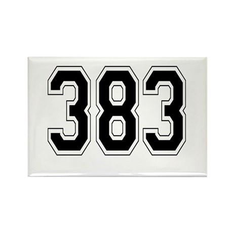 383 Rectangle Magnet (10 pack)