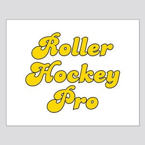 Retro Roller Hock.. (Gold) Small Poster