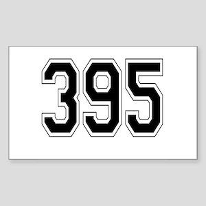 395 Rectangle Sticker