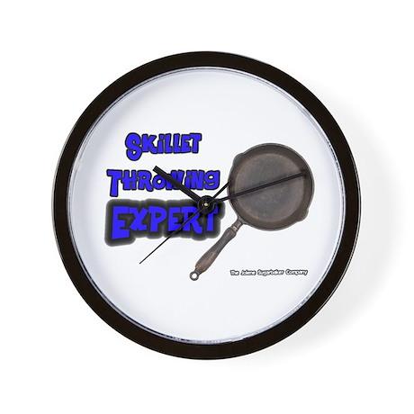 Skillet Trailer Expert Wall Clock