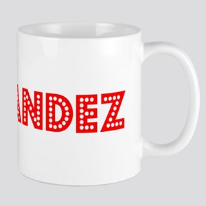 Retro Hernandez (Red) Mug
