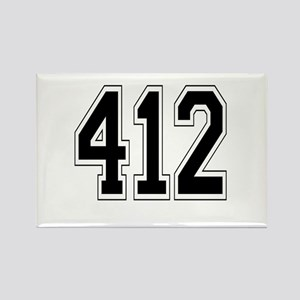 412 Rectangle Magnet