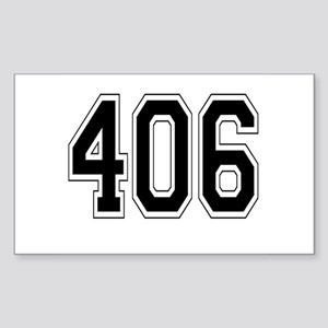 406 Rectangle Sticker