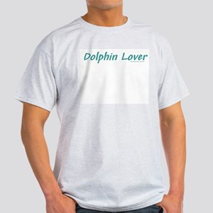 Dolphin Lover - Ash Grey T-Shirt