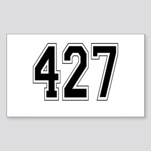 427 Rectangle Sticker