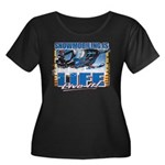 Snowmobiling is Life Live IT Women's Plus Size Sco