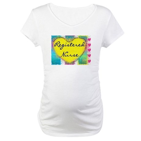 Registered Nurse Maternity T-Shirt