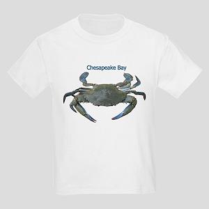 Chesapeake Bay Blue Crab Kids Light T-Shirt