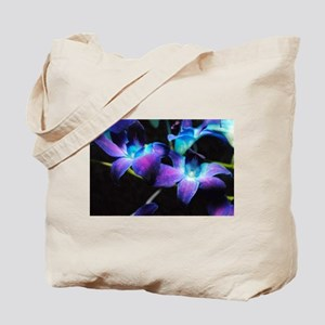 Two Purple Orchids Tote Bag
