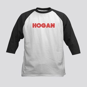 Retro Hogan (Red) Kids Baseball Jersey