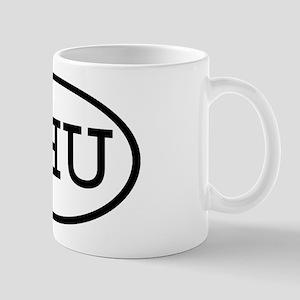 SHU Oval Mug