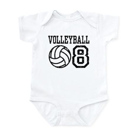 Volleyball 08 Infant Bodysuit