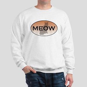 Cat Meow Sweatshirt