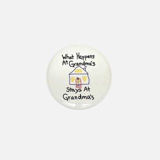 Grandma's House Mini Button