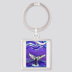 Whale Tail journal Keychains