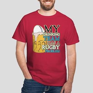 Rugby Drinking Team Dark T-Shirt