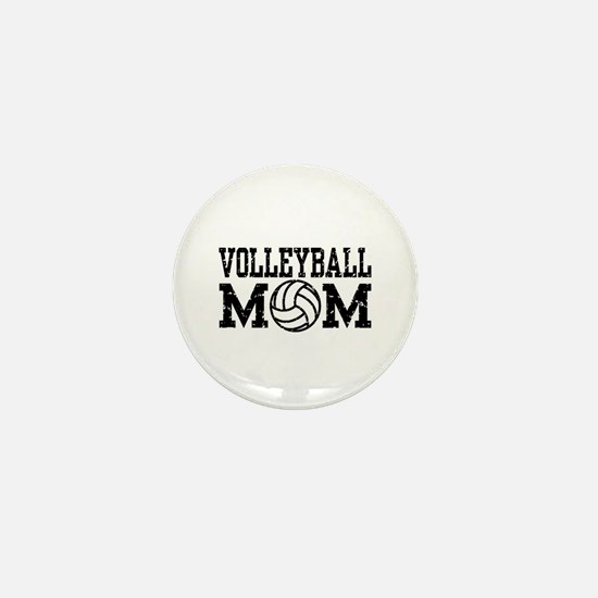Volleyball Mom Mini Button