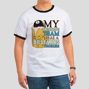 Billiards Drinking Team Ringer T