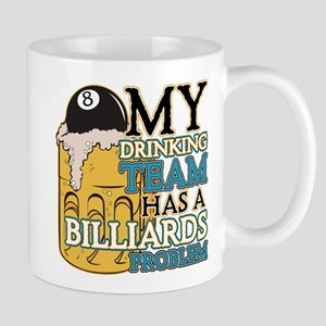 Billiards Drinking Team Mug