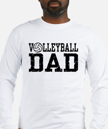 Volleyball Dad Long Sleeve T-Shirt