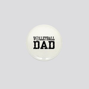 Volleyball Dad Mini Button