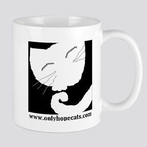 Abstract Cat Mug