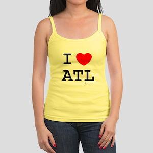 """I Love Atlanta"" Jr. Spaghetti Tank"