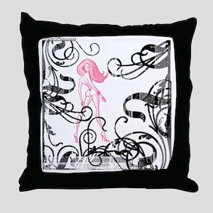 Garden of Evil Throw Pillow