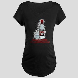 Breakfast of Champions Maternity Dark T-Shirt