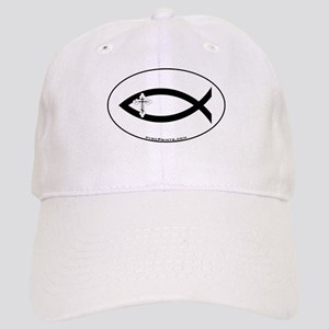 Russian Orthodox Cross Fish Cap