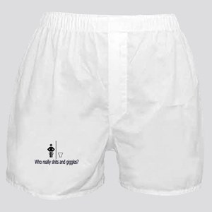 POOP Shits and Giggles Boxer Shorts