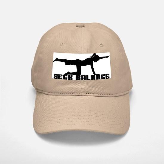 Seek Balance Baseball Baseball Cap